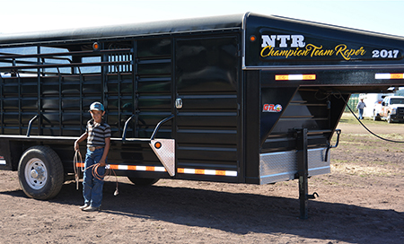 8-Yr-Old Wins Trailer at NTR Mormon Lake
