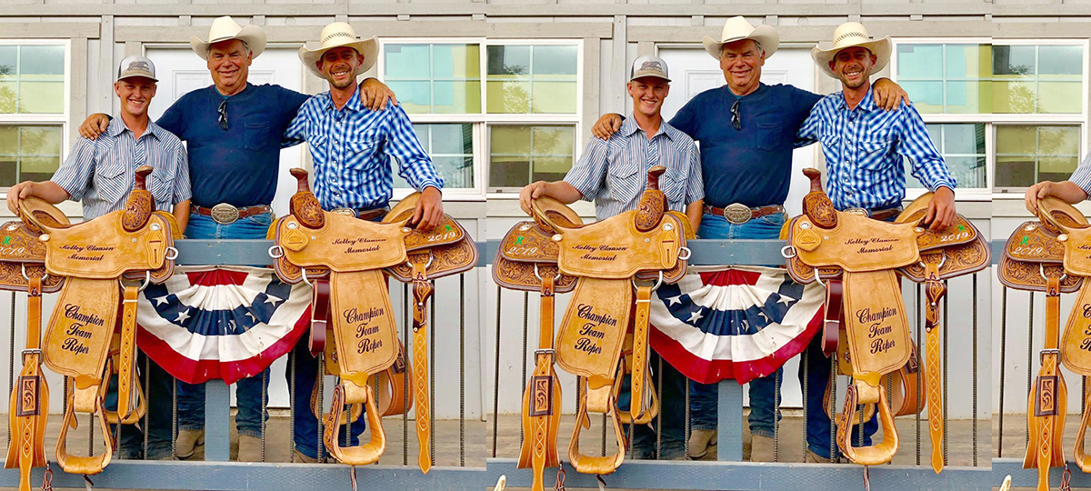 Smith & Clover Win Kelly Clausen Memorial Saddles