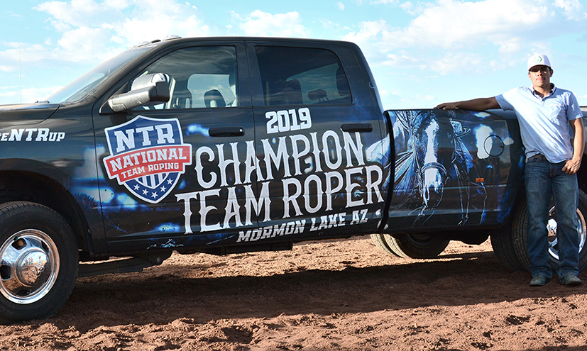 High Point Roper Wins New Truck
