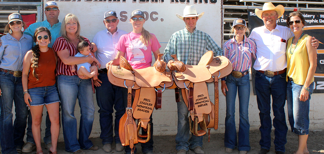 Winning the Oakdale 10 Steer