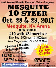 Double Diamond - Mesquite 10 Steer - Sep17