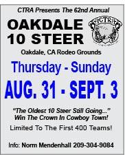 Oakdale 10 Steer Jul17