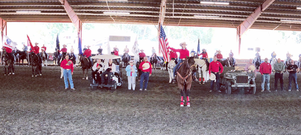 Veterans Benefit From Team Roping