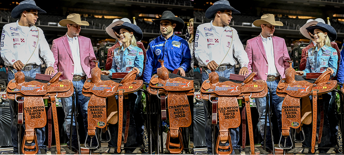 Champions Crowned At The American Rodeo
