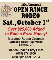 4th Annual Open Ranch Rodeo